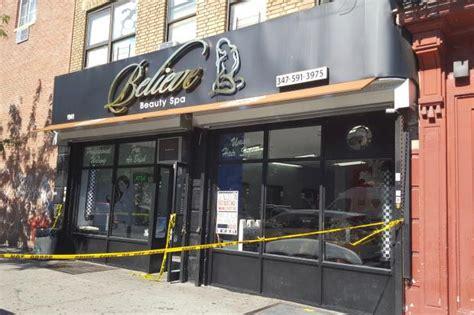 man shot dead  bronx salon nypd  tremont east