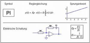 Regelabweichung Berechnen : regelungstechnik der regler ~ Themetempest.com Abrechnung