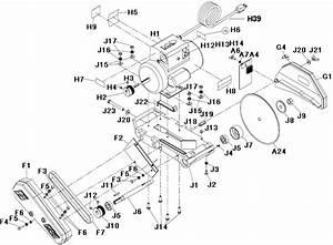 Chicago Electric Tile Saw Parts