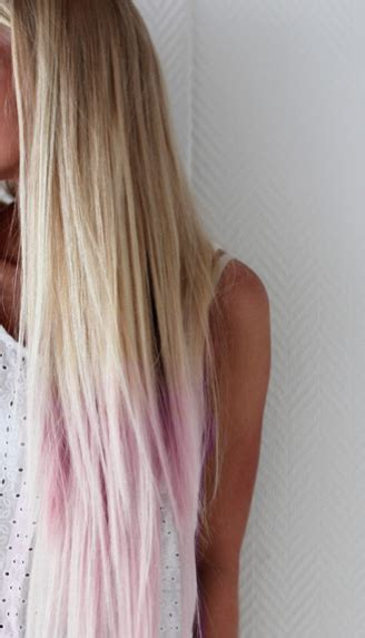 A Complete Hair Straightening Tips Curly Dip Dyed And