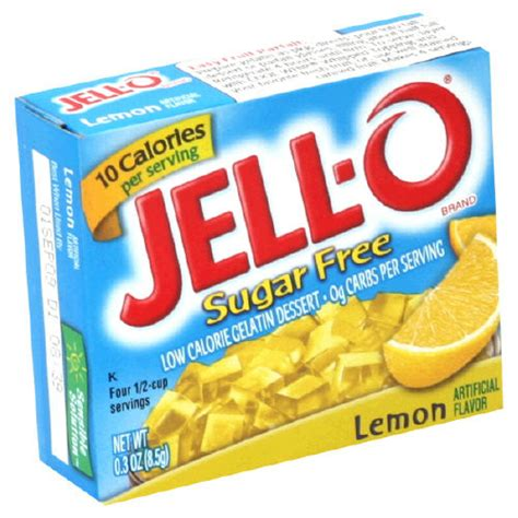 sugar free jello desserts jell o sugar free lemon low cal gelatin dessert choose ebay