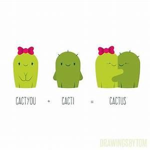 illustration cactus sketch draw on Instagram