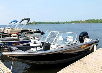 Used Fish And Ski Boats Minnesota by Orr Minnesota Boat Rentals Pelican Lake Fishing Boats