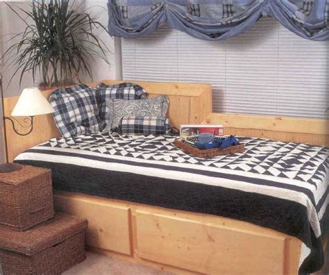 day bed wood furniture plans