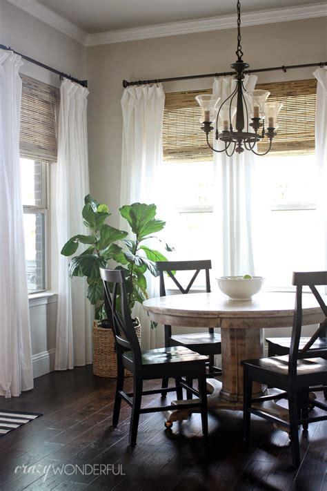 add bamboo shades white curtains home sweet home