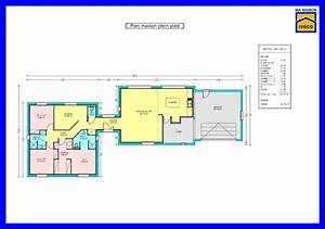 plans de maison gratuit plain pied faire ses plans de With faire les plans de sa maison