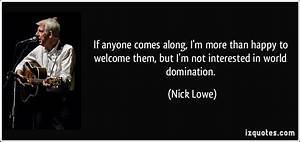 World Domination Quotes. QuotesGram