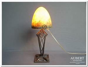 Lampe Art Deco : pied de lampe art deco hoze home ~ Teatrodelosmanantiales.com Idées de Décoration