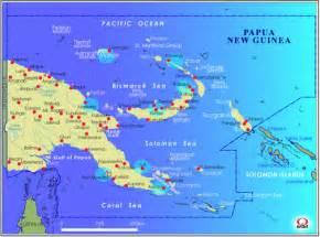 パプアニューギニア:パプアニューギニア地図 Map of ...