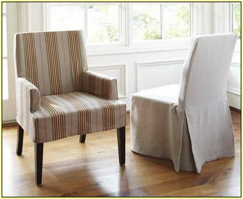 Pottery Barn Slipcovers Dining Room Chairs