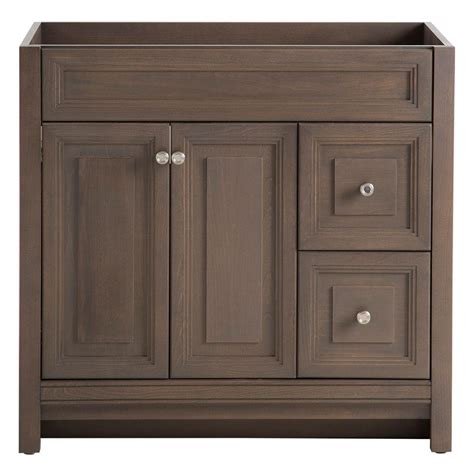 home depot bathroom vanities and cabinets home decorators collection brinkhill 36 in w bath vanity