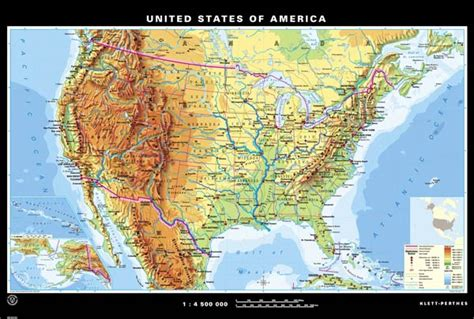 us map with mountain ranges