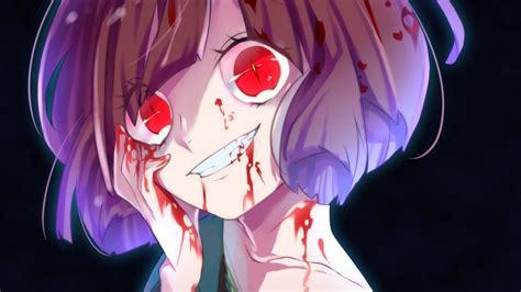 Anime Style Wallpaper - 3840x2160 undertale chara yandere creepy smile