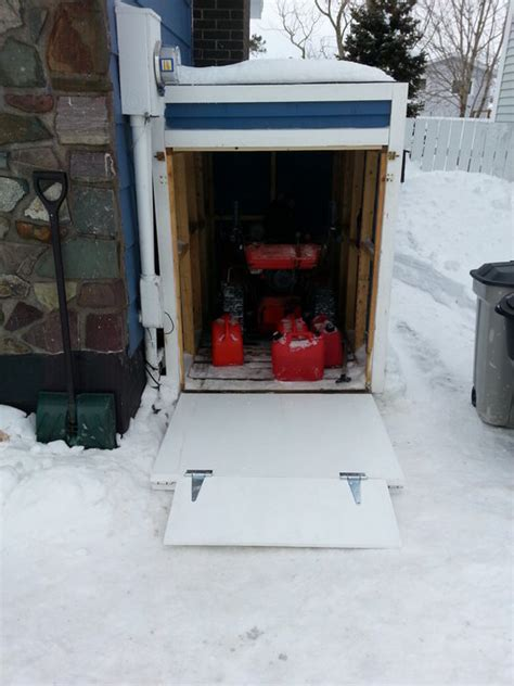 snowblower shed the last project of 2013 and the project of 2014