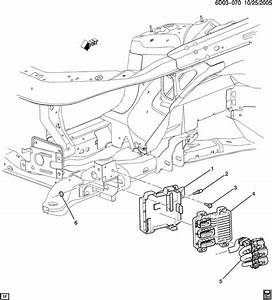 Cadillac Sts Module  Emission Control System