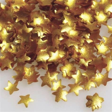 rainbow dust edible gold stars confetti squires kitchen shop