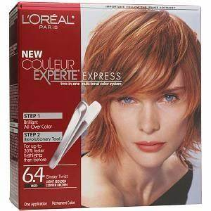 My Color L39Oreal Easy Color Light Golden Copper Brown
