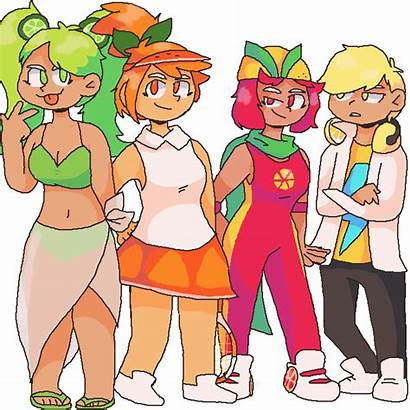 Squad Cookie Run Citrus Pixilart