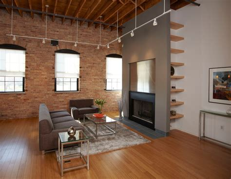 Urban Loft In Waterloo, Iowa  Industrial  Living Room