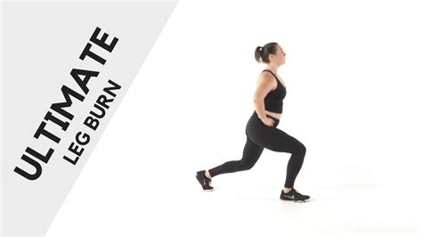Ultimate Leg Burn - YouTube