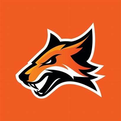 Fox Vector Sport Furious Orange Clip Illustrations