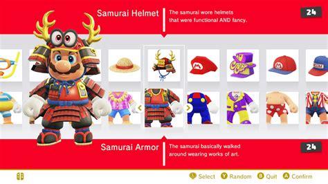 samurai costume super mario odyssey   meme