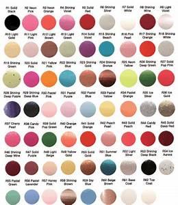l_konad-regular-polish-color-chart | NAIL DECOR