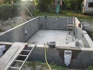 autoconstruction d39une piscine With faire une dalle pour piscine