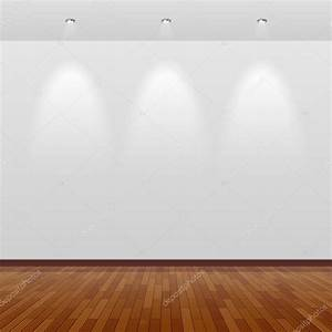 Empty room with white wall — Stock Vector © Alhovik #69938435