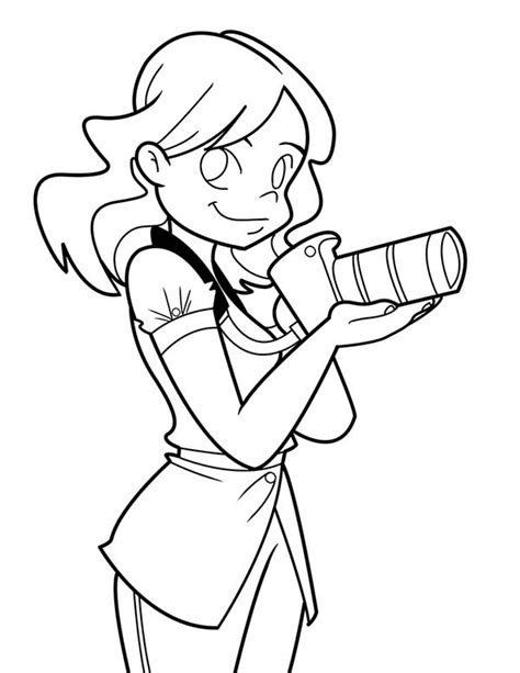 kelseys camera  photography coloring page coloring sky
