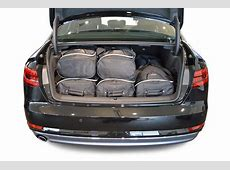 CarBagscom travel bag sets Audi A4 B9 2015present 4d