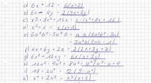 Stationäre Punkte Berechnen 2 Variablen : aufgaben ausklammern zahlen mit variablen mathelounge ~ Themetempest.com Abrechnung