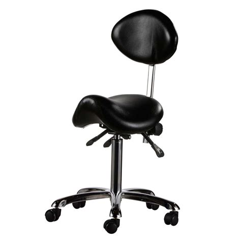 eurostyle saddle chair for nail technician ultimate