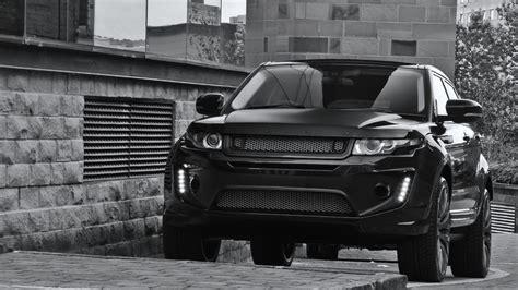 range rover evoque black label edition  kahn