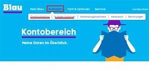 Blau De Meine Rechnung : login anmelden bei mein blau hilfe und tipps giga ~ Themetempest.com Abrechnung