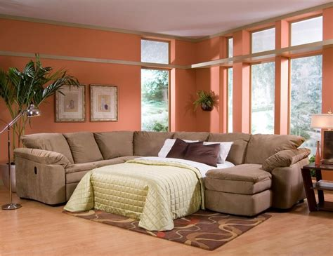 Sectional Sofas With Recliners And Sleeper by Legacy Dual Reclining Left Arm Loveseat Sleeper And Right