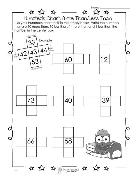 15 best images of more or less worksheets 10 more or