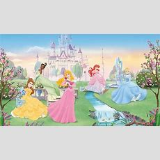 Disney Dancing Princess Wall Mural Xl Princesses
