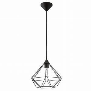 Lustre Metal Noir : lustre suspension et plafonnier leroy merlin ~ Teatrodelosmanantiales.com Idées de Décoration