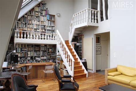 grande verriere  mezzanine bibliotheque  mires paris