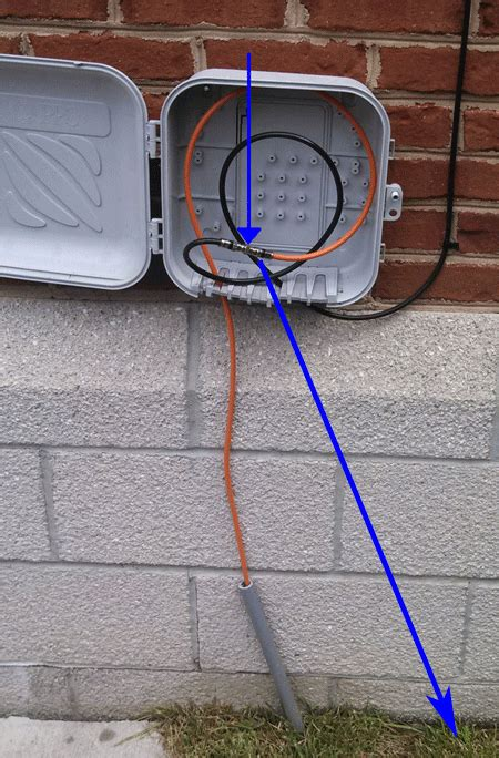 Exterior Cable Tv Wiring Box by We Fix Comcast