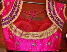 saree blouse designs pattu saree blouse designs
