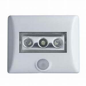 Applique Exterieur Led Avec Detecteur : applique d 39 ext rieur led avec d tecteur piles blanc h8 ~ Farleysfitness.com Idées de Décoration
