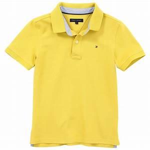 Tommy Hilfiger Sun yellow cotton piqué polo shirt Yellow ...