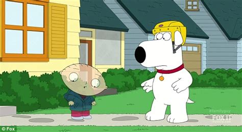 Stewie Crashes Brian S Car by Brian Griffin Is Resurrected On Family