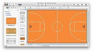 Create Basketball Court Diagram