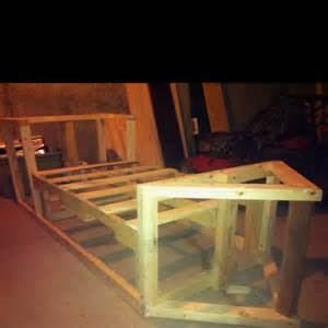 Homemade Pirate Ship Bed