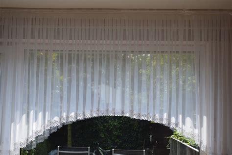 landhaus blumenfenster store mit ca cm spitze voile