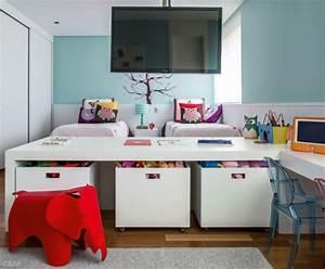 Geschwister Zimmer Einrichten : kinderzimmer gestalten kreative ideen in farbe ~ Markanthonyermac.com Haus und Dekorationen