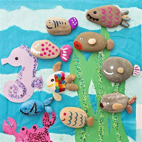 steine bemalen mit acrylfarbe 1001 ideen und anleitungen zum thema basteln mit kindern
